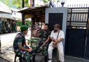 Pasca Aksi Damai 22 Mei Danramil Tanah Abang Komsos di Petamburan