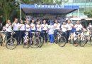 Jelang Akhir Masa Jabatan Danlantamal III Olahraga Bersama