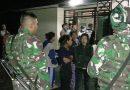 Tunaikan Tugas Kemanusiaan, Satgas Yonif 734 Cegah Human Trafficiking di Morotai Utara