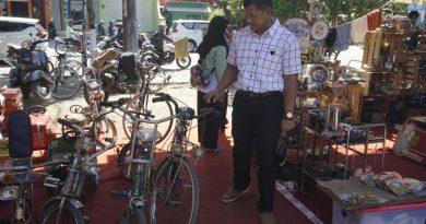 Dandim Ngawi Beserta Ibu Dan Perwira Jajaran Kodim 0805/Ngawi Kunjungi Festival Madioen Tempoe Doeloe