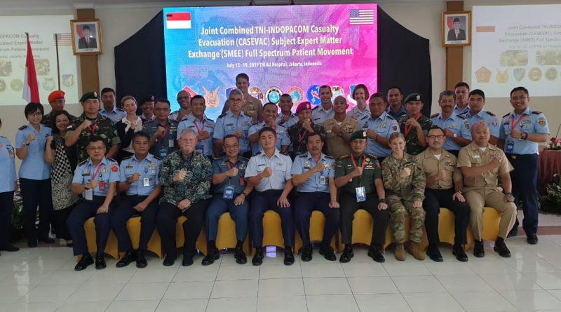 Korps Marinir Ikuti Casevac dan Smee