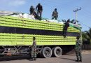 16 Ton Barang Ilegal asal Malaysia, Diamankan Satgas Pamtas Yonif Raider 600 di Sebuku