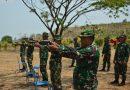 Bina Kemampuan, Kodim Ponorogo Latihan Menembak