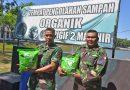 Prajurit Brigif 2 Mar Olah Sampah Daun Jadi Pupuk Organik