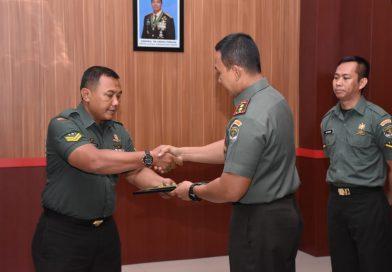 Dandim 0501/ JP BS Apresiasi Prestasi Anggota