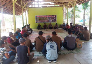 Koramil Wungu, Kodim 0803/Madiun Bersama Tiga Pilar Gelar Sosialisasi Cegah Karhutla