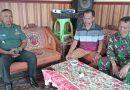 Danramil Tanggunggunung dan Anggota Komsos Bersama Warga Desa Binaan