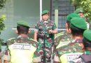 Dandim Ngawi Pimpin Apel Siaga Jelang Pelantikan Presiden Dan Wakil Presiden