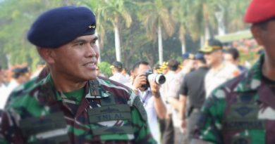Pangkoarmada I Hadiri Apel Gelar Pasukan Pengamanan Pelantikan Presiden dan Wapres RI