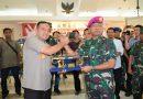 Danlantamal III Kunjungi Polres Jakarta Utara