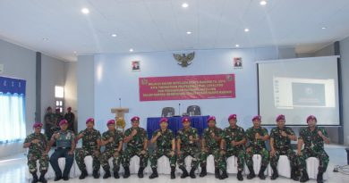 Safari Intelijen Korps Marinir 2019 di Brigif 4 Marinir/BS
