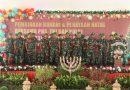 Danyonif 511/DY Bersama Umat Kristiani Menghadiri Ibadah Perayaan Natal Bersama PNS, TNI Dan Polri Di Pemkab Blitar
