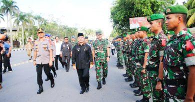 Kasdam XII/Tpr Dampingi Wakapolda Cek Kesiapan  Operasi Liong Kapuas 2020