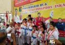 Membanggakan, Atlet Binaan Yonif R 514 Rebut Piala di 2 Kejuaraan Karate