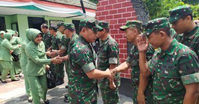 Pererat Silaturahmi, Dandim Tulungagung Kunker ke Koramil Jajaran