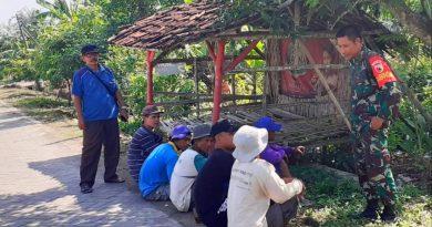 Sertu Edy, Dengan Komunikasi Sosial Kita Bisa Mengetahui Situasi dan Kondisi di Wilayah