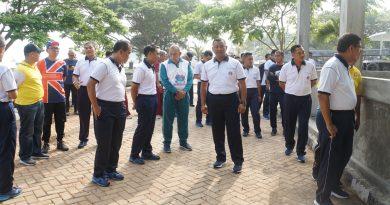 Wadan Lantamal III Ngopi Bareng Dengan Pejabat Pemprov DKI