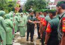 Pererat Silaturahmi Dandim Ngawi Beserta Ibu Kunjungi Koramil Jajaran