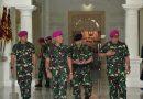 Dankormar Terima Tradisi Naik Pangkat Pati Korps Marinir