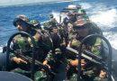 Satgas Terluar XXIII Patroli di Pulau Ndana