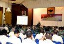 Perwira dan PNS Mako Kormar Ikuti Sosialisasi Pembangunan Zona Integritas