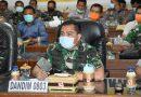 Dandim 0803/Madiun Ikuti Teleconference Bersama Gubernur Jatim
