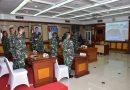 Korps Marinir Ikuti Entry Brifing Kasal, Melalui Vicon