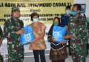 Alumni Akabri AL 1994/Moro Cadas 40 Bagikan Sembako Untuk Warakauri, Purnawirawan dan masyarakat Terdampak Covid 19