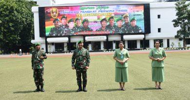 Kasad Terima Laporan Kenaikan Pangkat 70 Perwira Tinggi TNI AD, Putra Asli Papua Pertama, Jadi Letjen