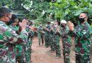 Ditengah Covid-19, Personel Satgas Yonif 411 Kostrad Rayakan Lebaran Dengan Sederhana di Papua