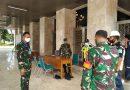 Kodim 0501/Jakarta Pusat Tempatkan Personelnya Untuk Penegakan Disiplin Patuh Protokol Kesehatan