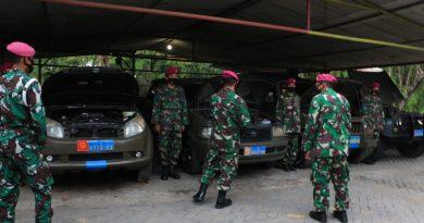 Pengecekan Operasional Rantis dan Ranmin Batalyon Kapa 2 Marinir