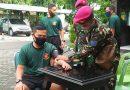 Perwira Kolatmar Laksanakan Bina Fisik Ditengah Pandemi Covid 19