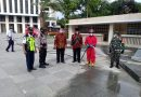 Jelang Dibukanya Kembali Masjid Istiqlal, Babinsa Koramil 02/ SB Bantu Sterilisasi