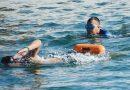 Pertajam Kemampuan, Prajurit Marinir Yonmarhanlan VI Makassar Latihan Renang Laut