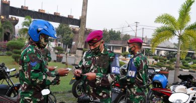 Cegah Pelanggaran, Yonzeni 2 Marinir Gelar Gaktibplin