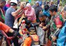 Terjebak Banjir dan Tanah Longsor, 9 Babinsa Ramil Lasolo Berhasil Evakuasi 43 Wisatawan
