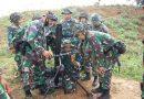 Prajurit Yonif 6 Brigif 1 Mar  asah kemampuan menembak Mortir 81
