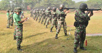 Terpilihnya Juara Menembak Batalyon Menbanpur 2 Marinir