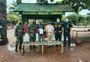Sinergitas TNI-Polri dan CIQS PLBN Sota Berhasil Gagalkan Penyelundupan Tanduk Rusa