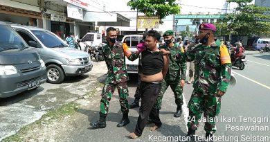 Aksi Prajurit Yonif 9 Marinir Gagalkan Pengedar Sabu