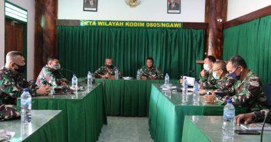 Jelang Sertijab Dandim, Tim Dari Korem 081/DSJ Verifikasi Ke Kodim 0805/Ngawi