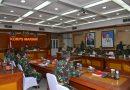 Korps Marinir Terima Tim Audit Kinerja Itjen TNI TA.2020
