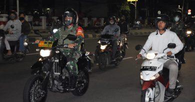 Patroli Malam Takbiran Idul Adha 1441 H/2020 M, Dandim 0501/JP BS : Kondusif, tidak ada hal menonjol