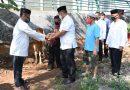 Kodim 0501/JPBS Membagikan Daging Qurban Disaat Pandemi