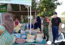 Turun Ke Pasar, Babinsa Madiun Imbau Pedagang Dan Pembeli Gunakan Masker