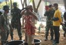 Penyembelihan Hewan Kurban di Mako Lantamal III
