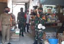 Himbauan Penerapan Protokol Kesehatan Oleh Babinsa Sawah Besar dan Pasukan BKO