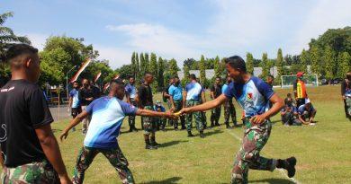 HUT RI ke 75, Resimen Kavaleri 2 Marinir Gelar Lomba Fun Run Antar Satuan