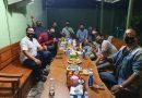 Silahturahmi dengan Awak Media, Dandim 0803/Madiun Kenalkan Lontong Kikil Khas Madura